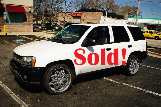 2003 Chevrolet Trailblazer LT 4Dr White SUV used car sale Antioch Zion Waukegan