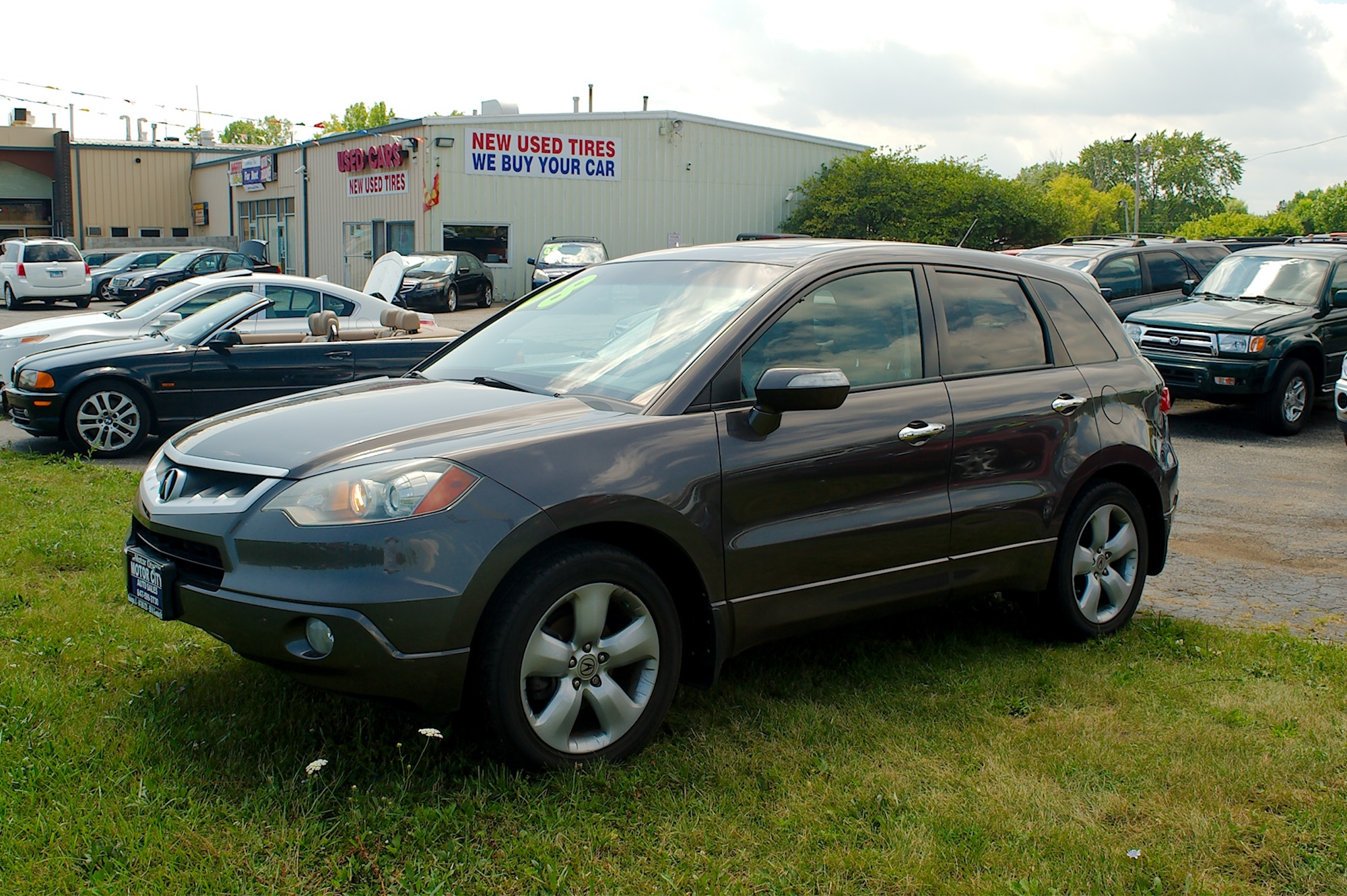 2005 Acura RDX Turbo Gray SUV Sale Antioch Zion Waukegan Lake County Illinois