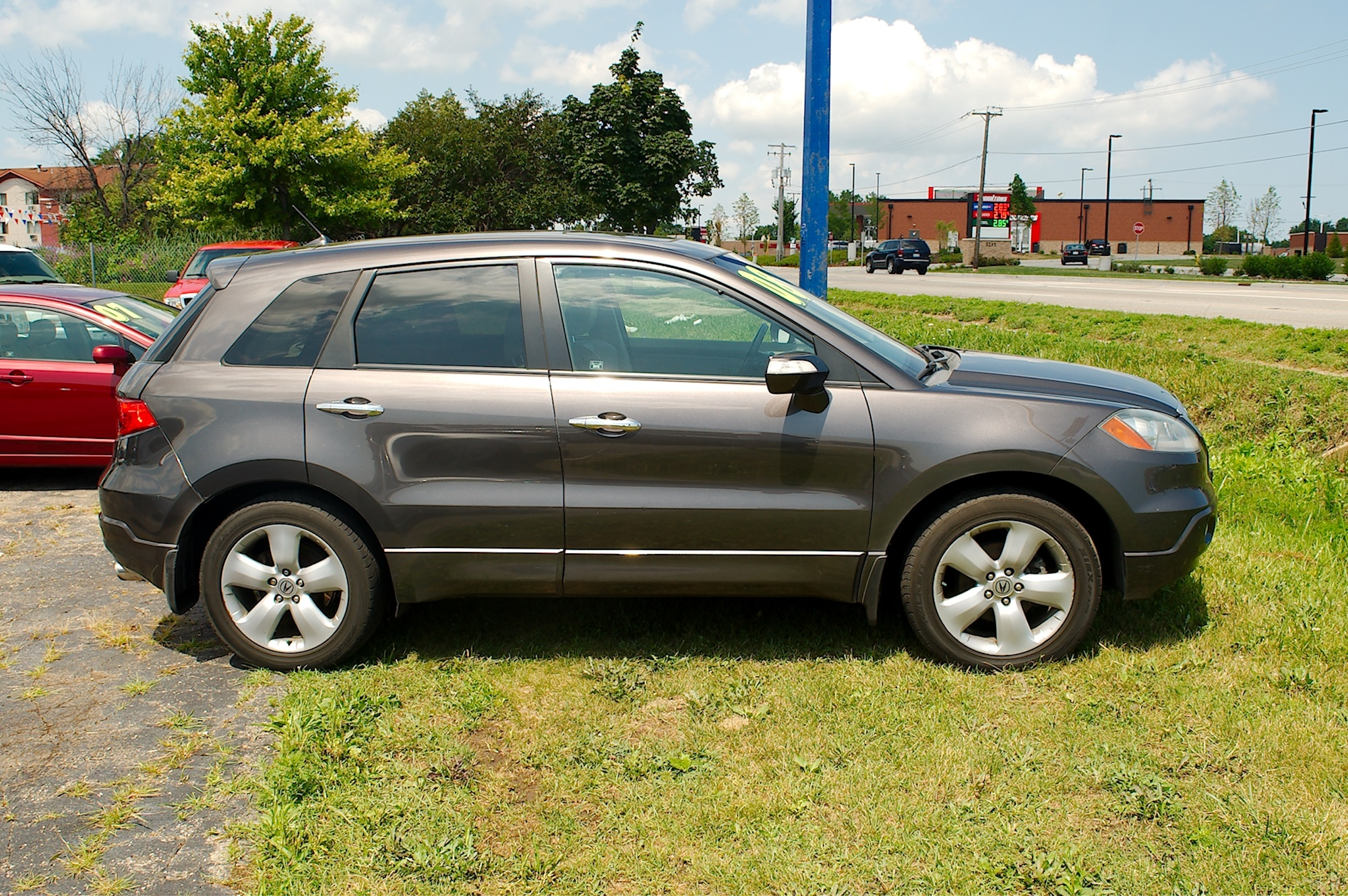 2005 Acura RDX Turbo Gray SUV Sale Bannockburn Barrington Beach Park