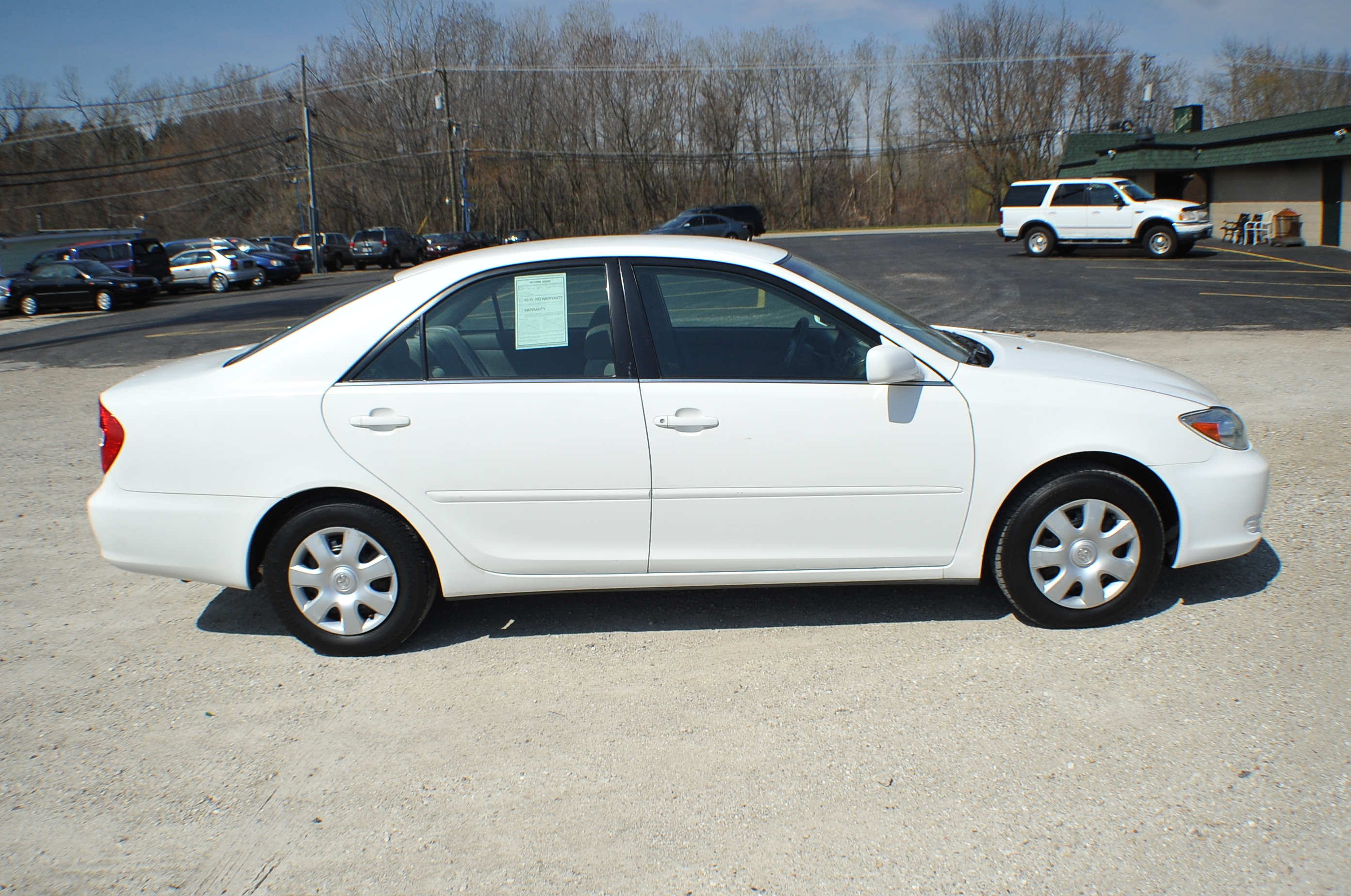 2002 Toyota Camry LE White Sedan used Car Sale Beach Park Buffalo Grove Deerfield Fox Lake