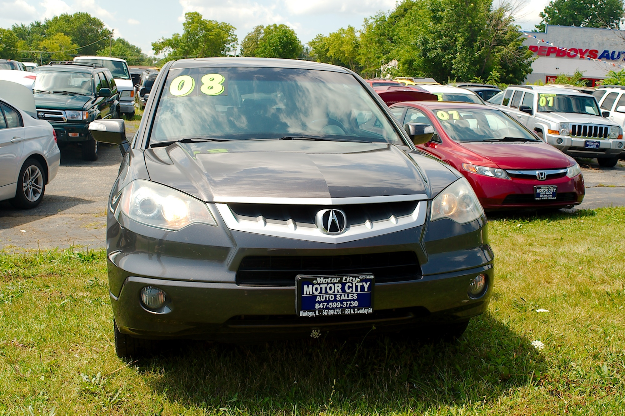 2005 Acura RDX Turbo Gray SUV Sale Gurnee Kenosha Mchenry Chicago Illinois