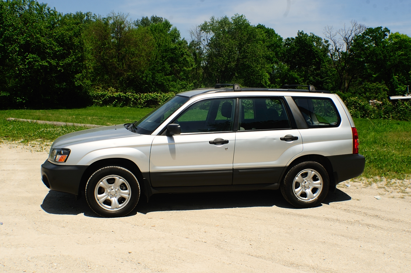 2005 Subaru Forester AWD Silver Used Wagon Sale Antioch Zion Waukegan Lake County Illinois