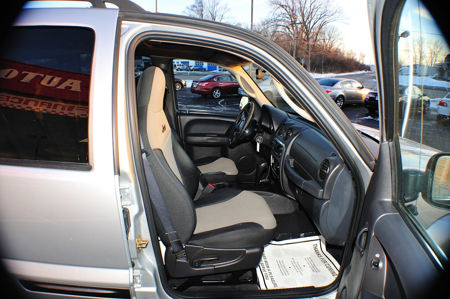 2004 Jeep Liberty Silver 4x4 Used SUV Sale Libertyville Lincolnshire Lindenhurst
