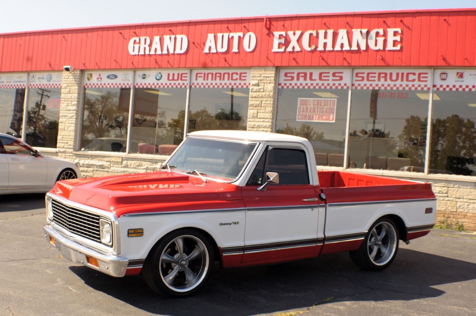 1969 GMC C10 Stroker Motor Used 4x2 Used Truck Sale Antioch Zion Waukegan Lake County Illinois