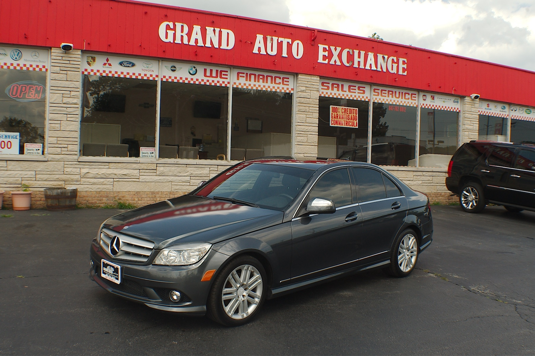 2008 Mercedes Benz C300 4Matic Gray Sedan Used Car Sale Antioch Zion Waukegan Lake County Illinois