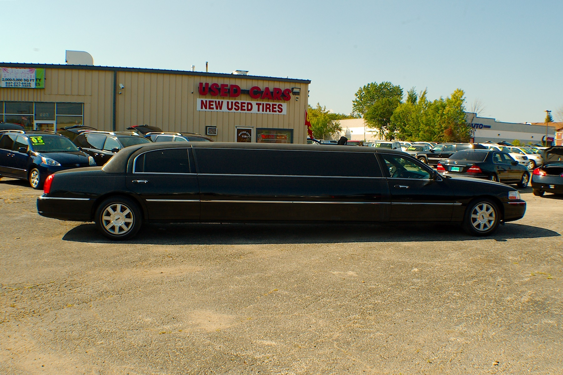 2007 Lincoln Town Car Stretch Limousine Used Car Sale Buffalo Grove Deerfield Fox Lake Antioch