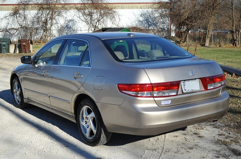 2004 Honda Accord Tan Sedan Used Car Sale Buffalo Grove Deerfield Fox Lake