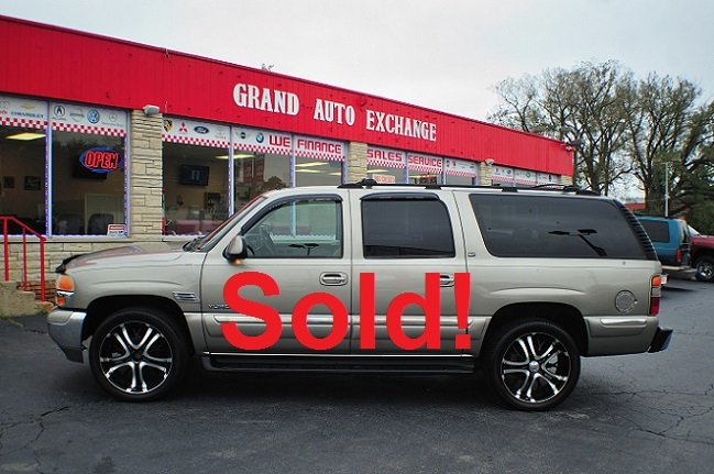2001 GMC Yukon XL SLT 4x4 Pewter Used SUV Sale Antioch Zion Waukegan