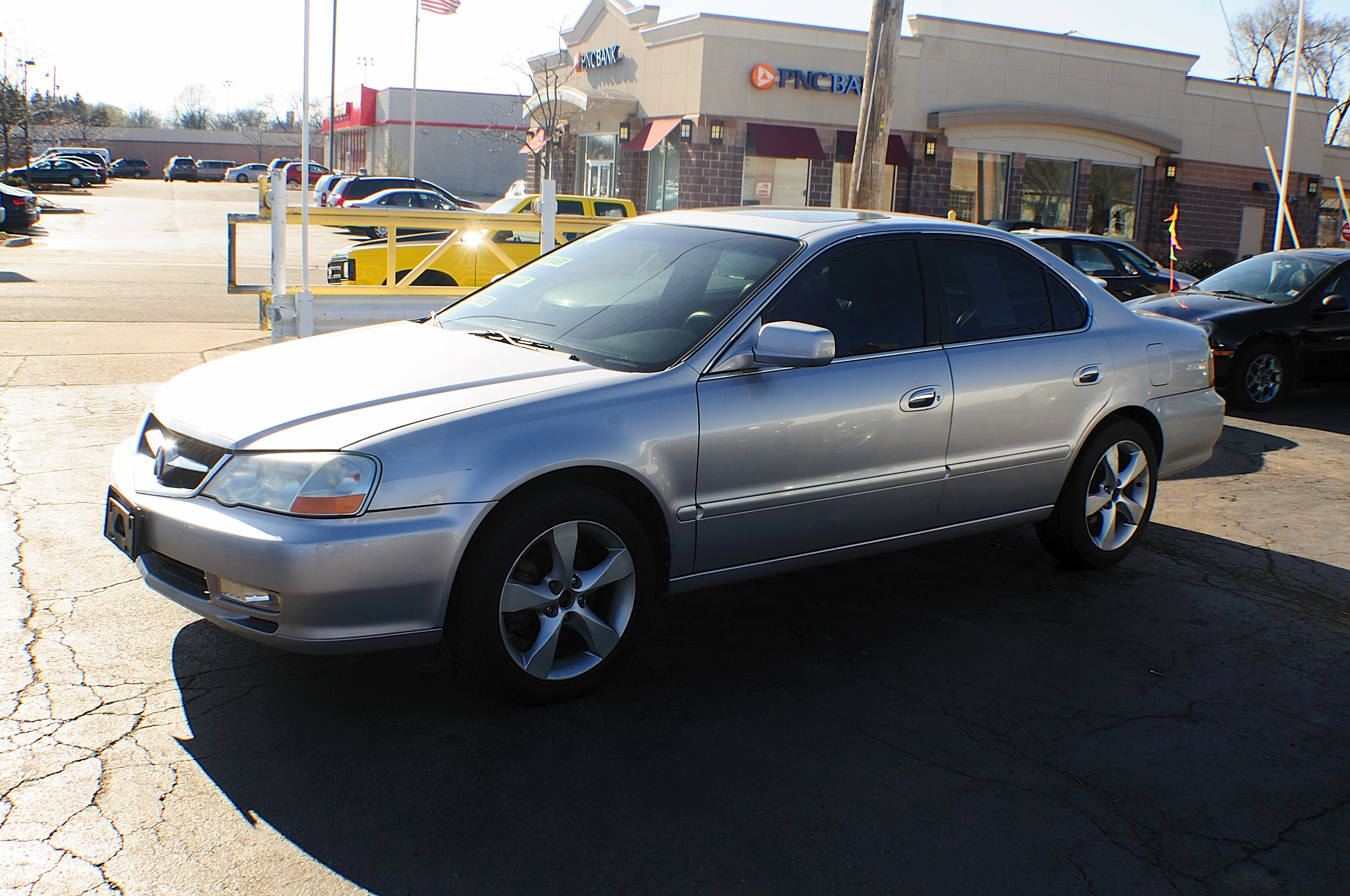 2003 Acura TL 4Dr Silver Sedan Used Car Sale Beach Park Buffalo Grove Deerfield