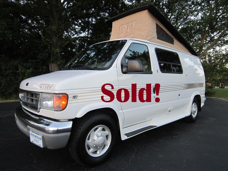 2001 Ford E250 GTRV Westy RB50 Pop Top used RV sale Antioch Zion Waukegan Lake County Illinois