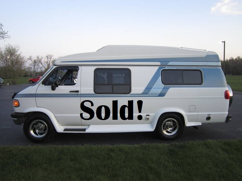 1997 Dodge Sportsmobile White EB Hardtop used RV Sale Antioch Zion Waukegan Lake County Illinois