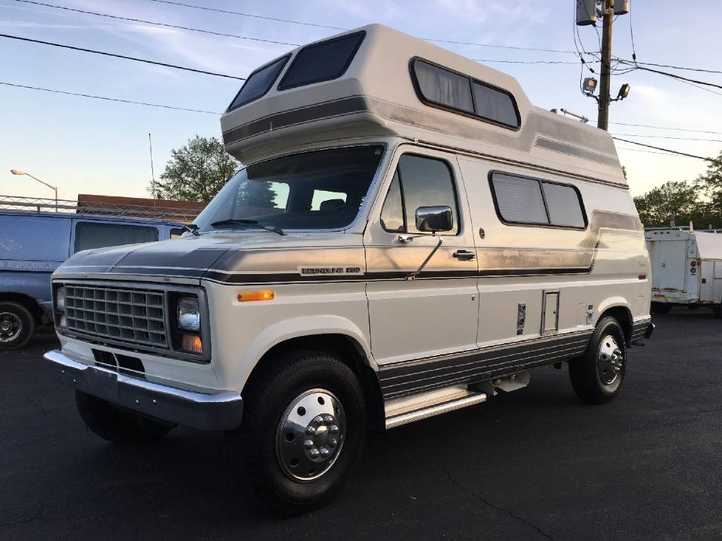1989 Coachman 17SD E250 Class B RV Camper Sale Antioch Zion Waukegan Lake County Illinois
