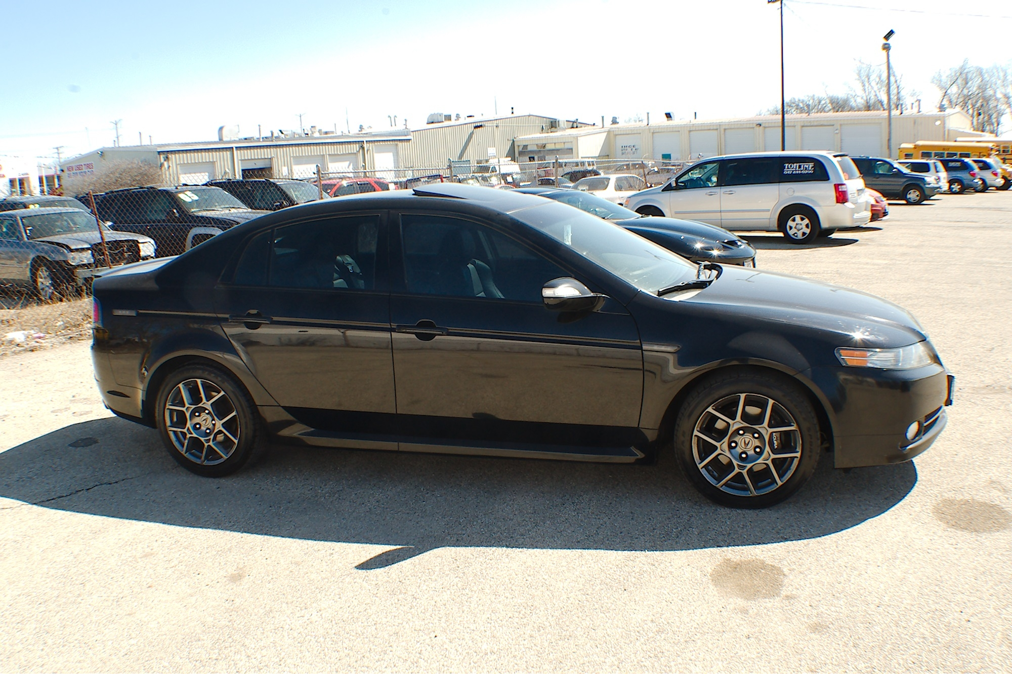2007 Acura Tl Type S For Sale >> 2007 Acura Tl Type S Black Sedan Sale