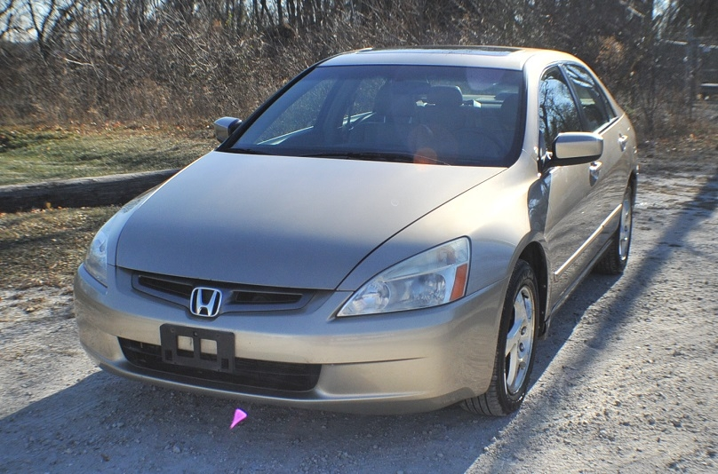 2004 Honda Accord Tan Sedan Used Car Sale Bannockburn Barrington Beach Park