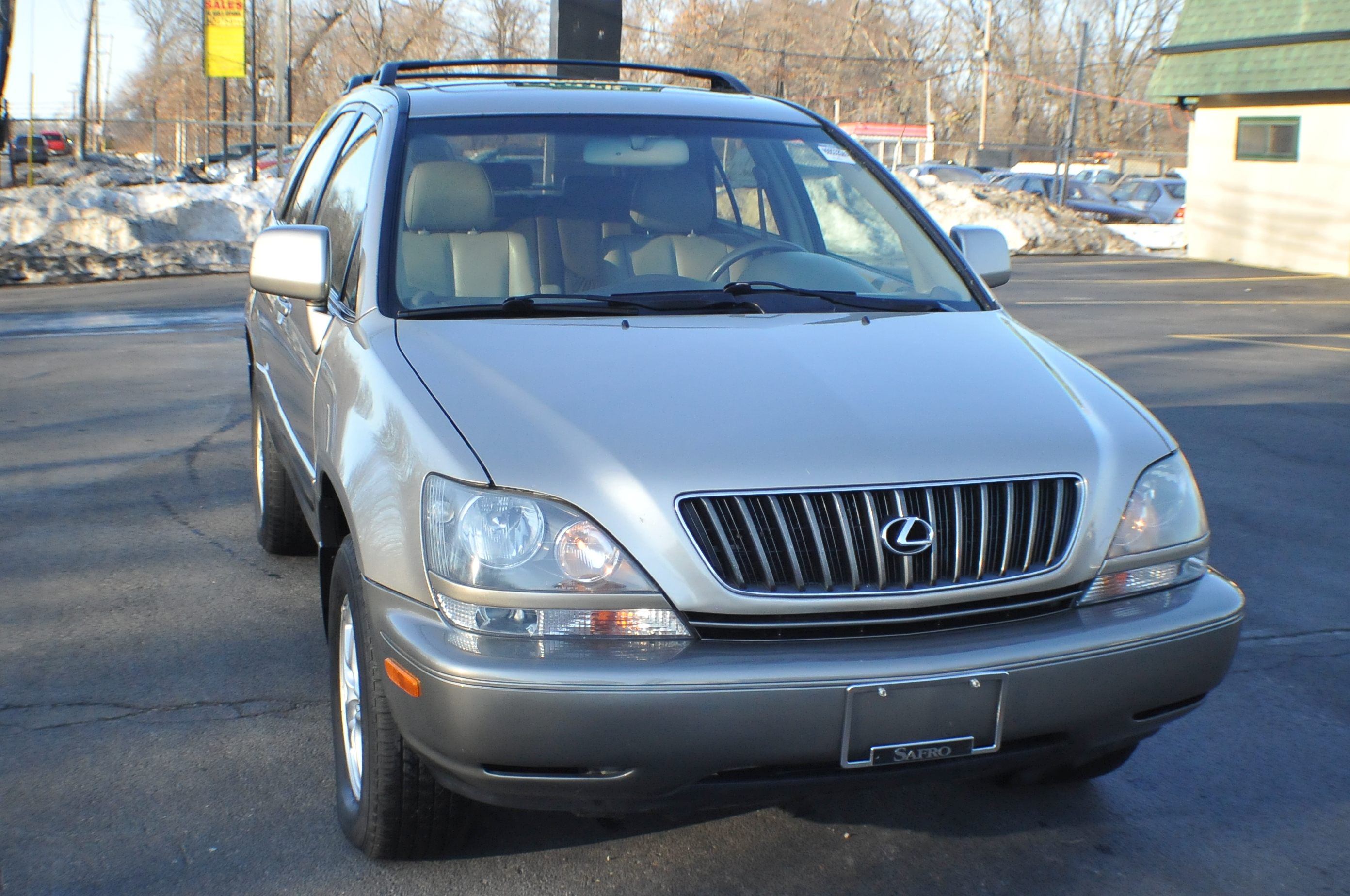 2000 Lexus RX300 Beige Topaz SUV Used Car Sale Beach Park Buffalo Grove Deerfield Fox Lake