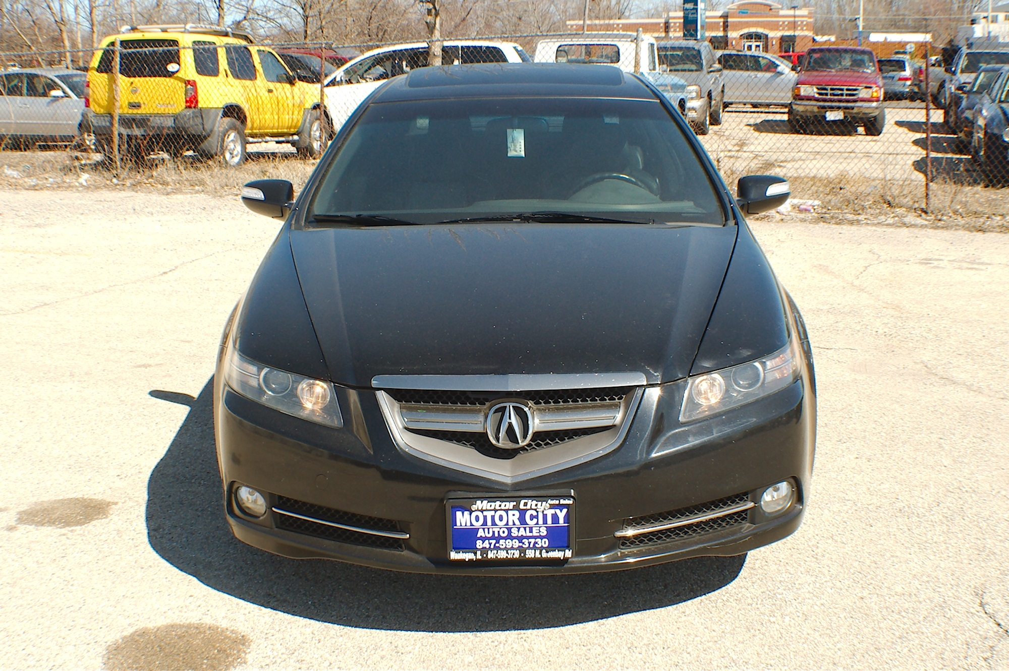 2007 Acura TL Type S Black Sedan Sale on acura xli, acura ls, acura rsx,