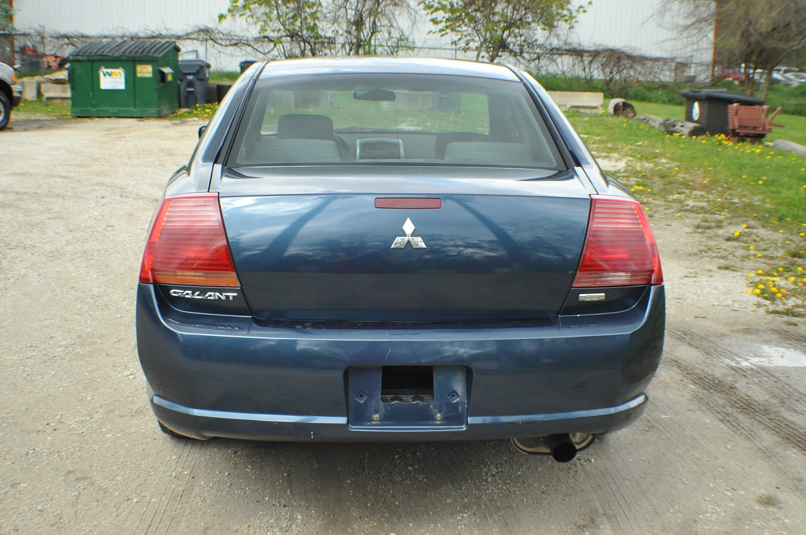 2005 Mitsubishi Galant ES Blue Sedan Used Car Sale Fox River Grove Grayslake Volo Green Oaks