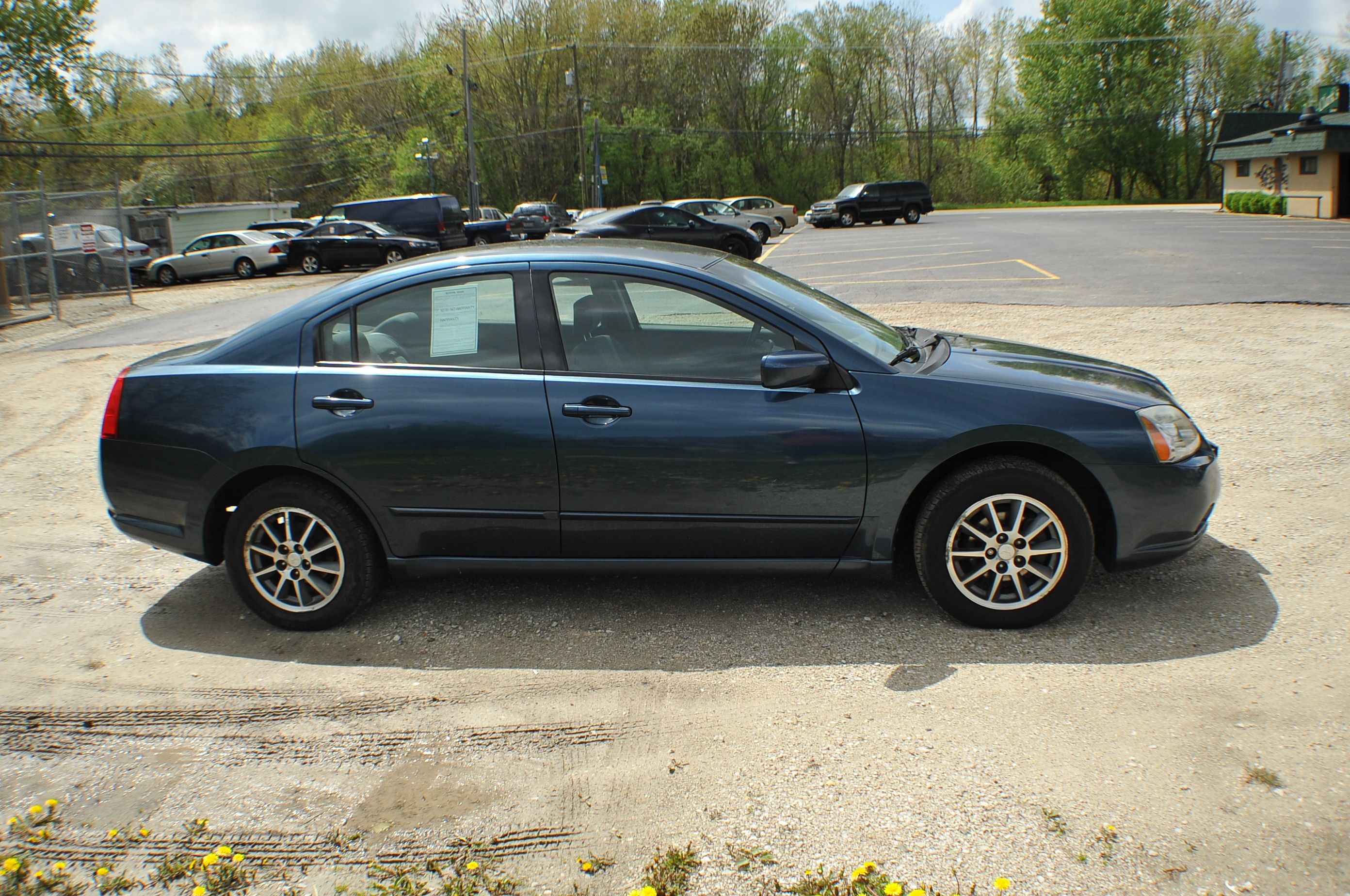2005 Mitsubishi Galant ES Blue Sedan Used Car Sale Kenosha Mchenry Bannockburn Barrington