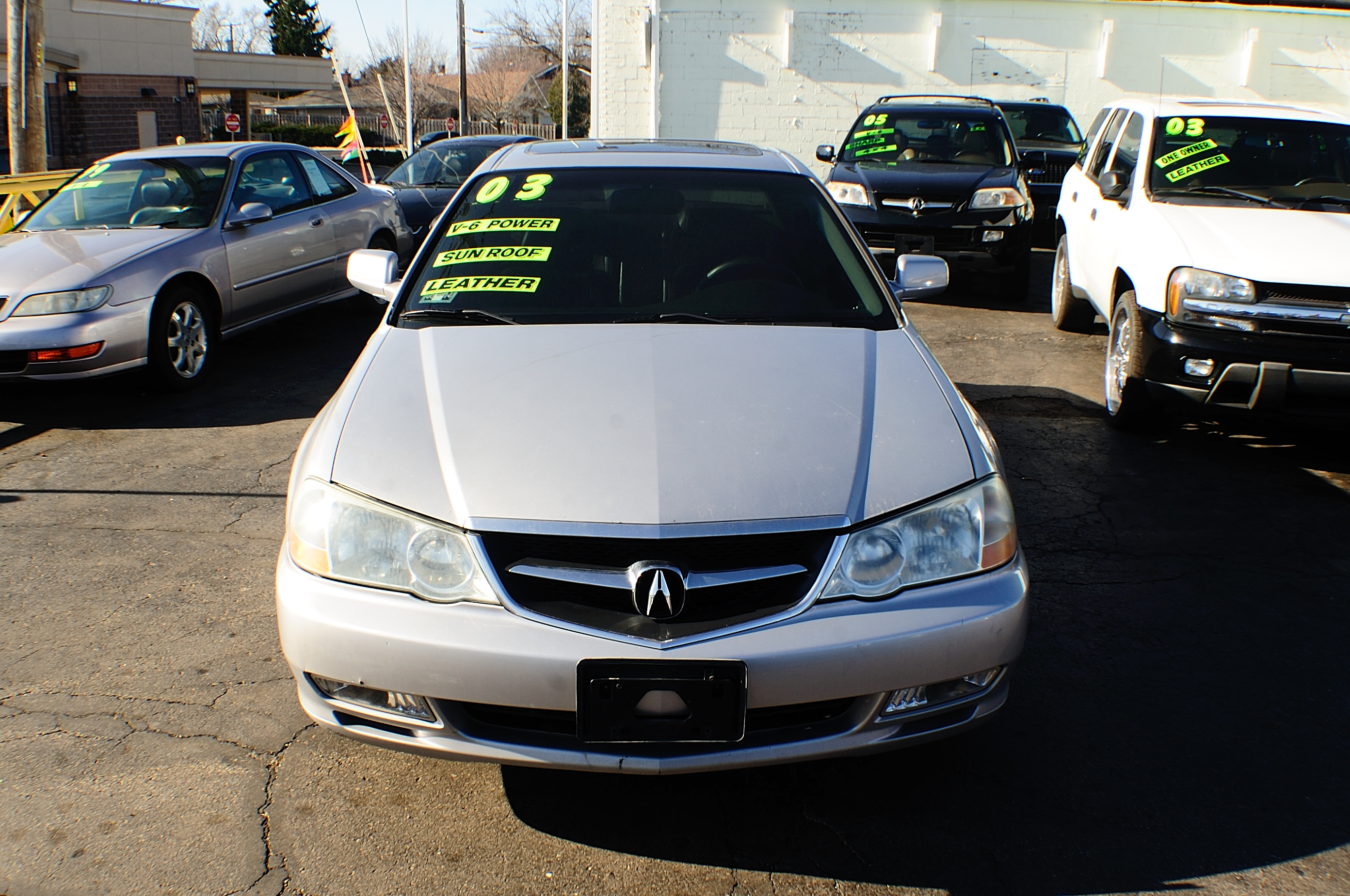 2003 Acura TL 4Dr Silver Sedan Used Car Sale Kenosha Mchenry Bannockburn Barrington