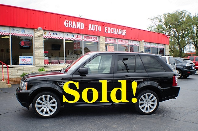 2006 Land Rover Range Rover Black used Sport SUV sale Antioch Grayslake