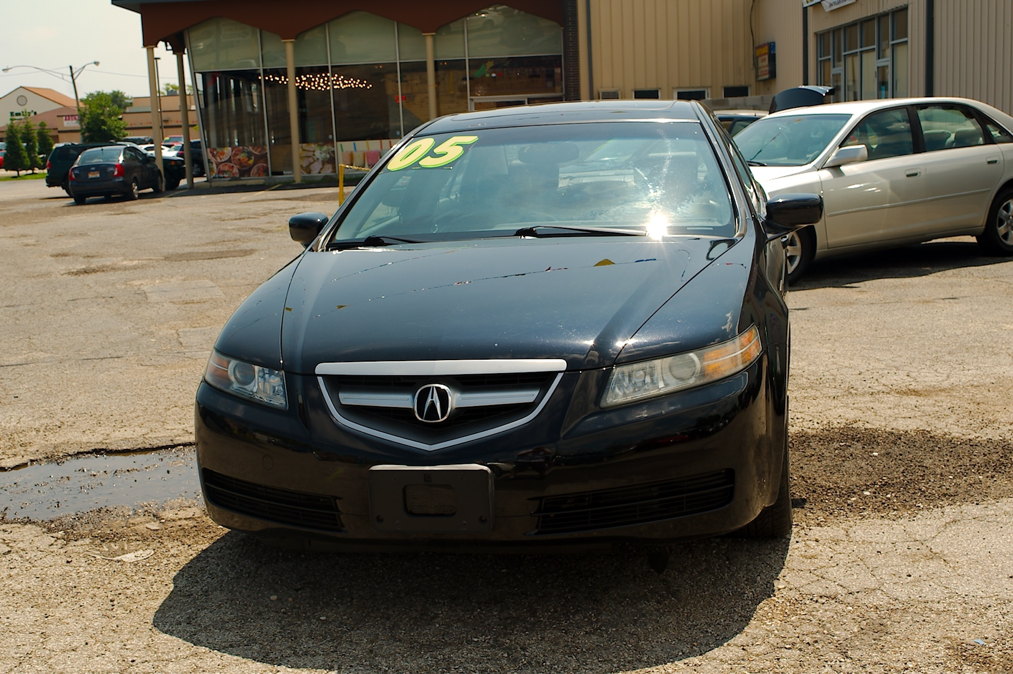 2005 Acura TL Navigation Black Used Sedan Sale Gurnee Kenosha Mchenry Chicago Illinois