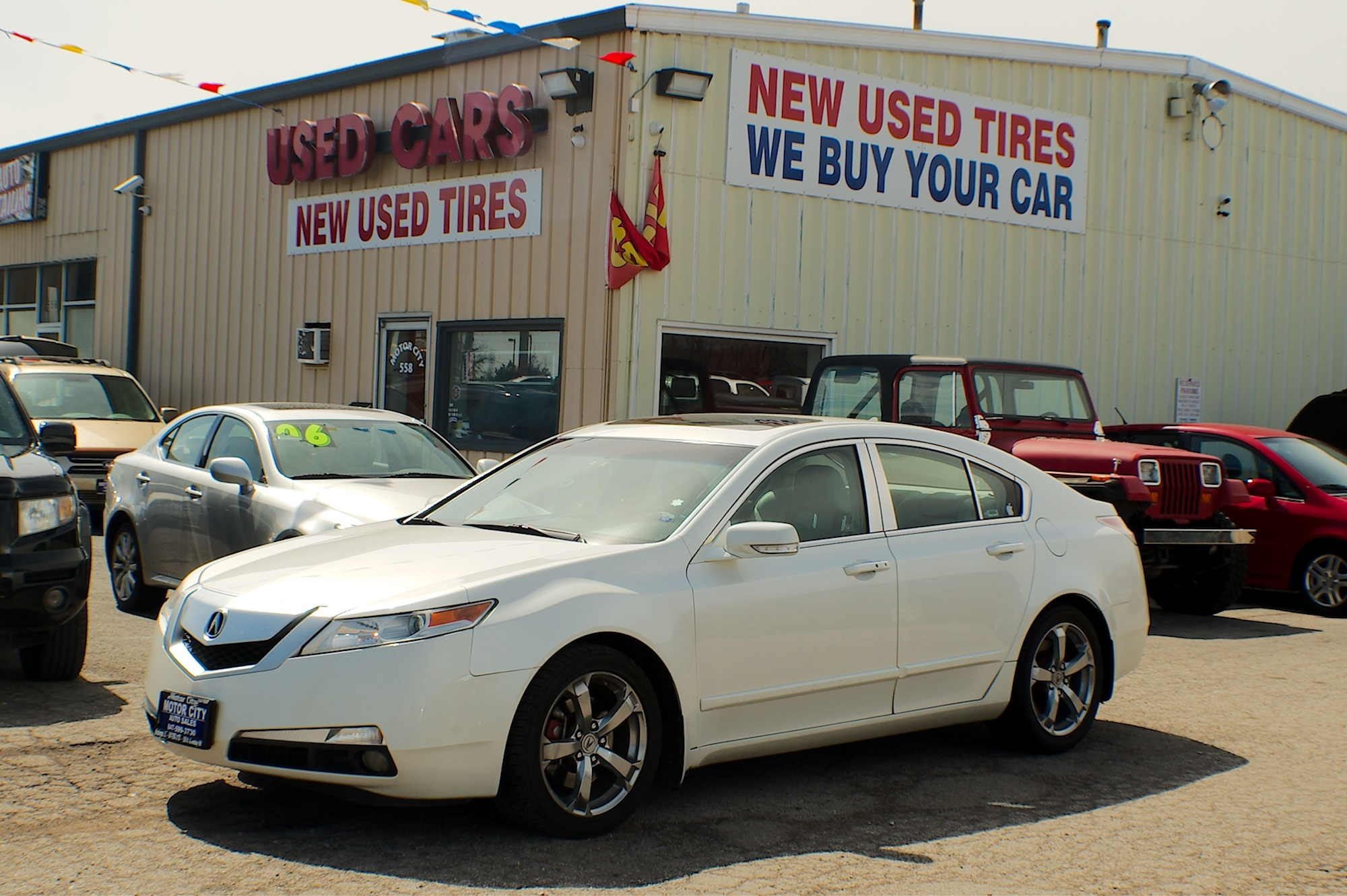 2010 Acura TL Navigation White Sedan Sale Antioch Zion Waukegan Lake County Illinois