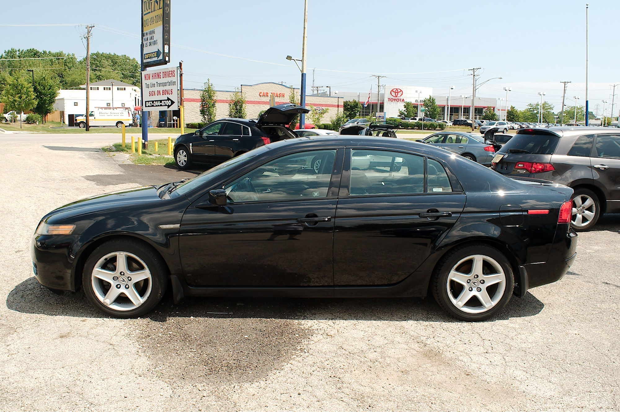 2005 Acura TL Navigation Black Used Sedan Sale Buffalo Grove Deerfield Fox Lake Antioch