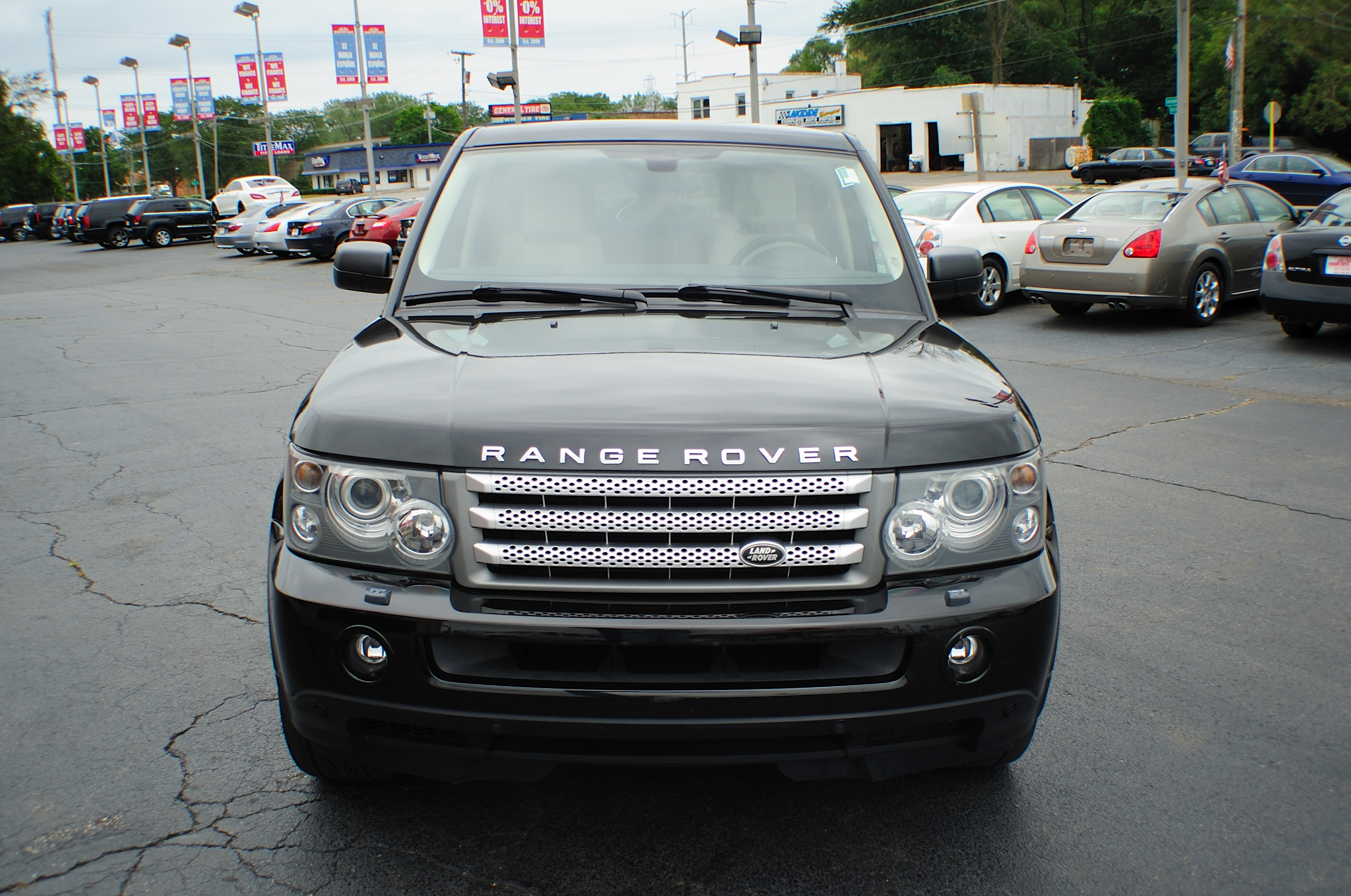 2006 Land Rover Range Rover Black used Sport SUV sale Libertyville Beach Park