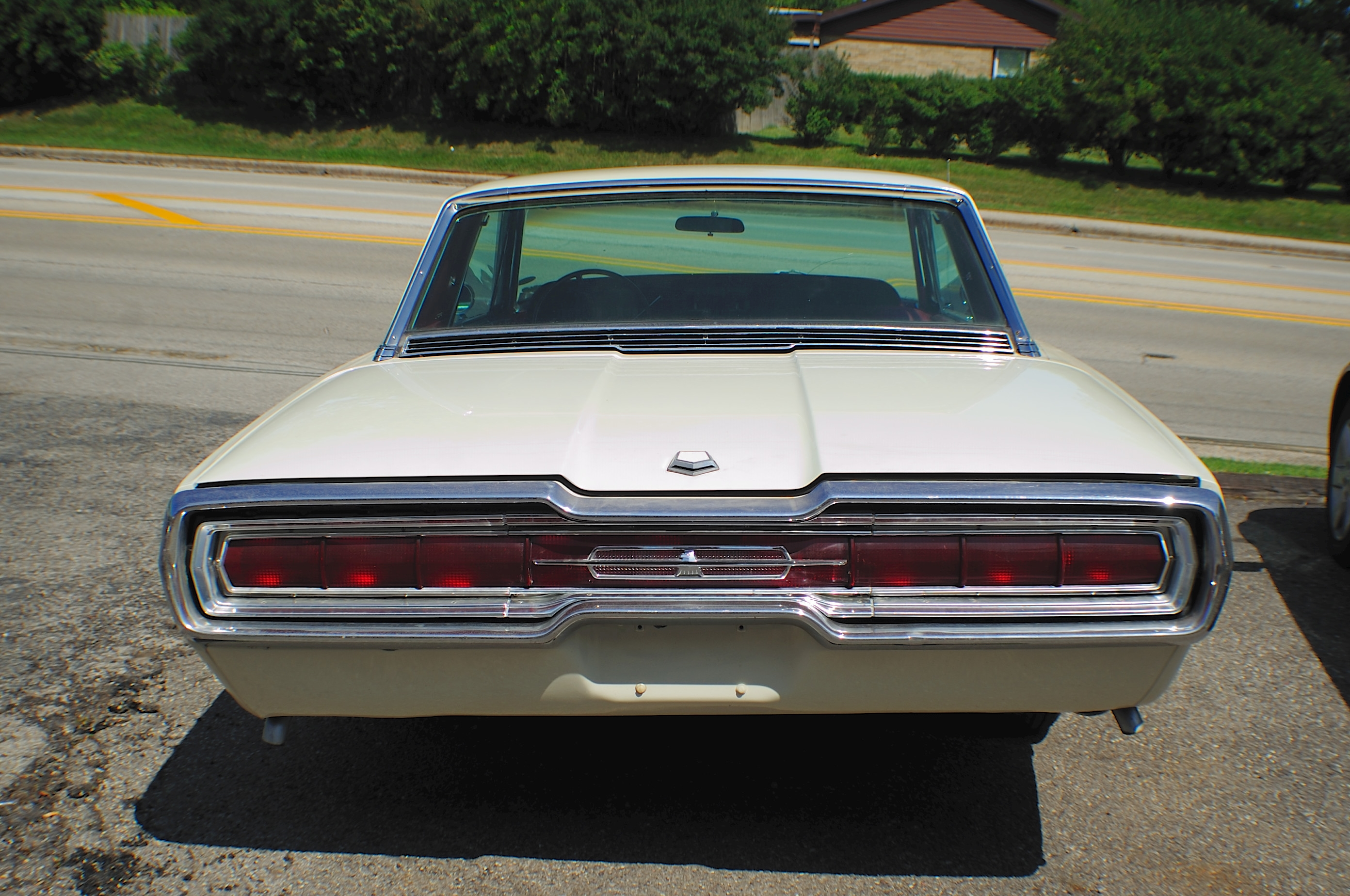 1966 Ford Thunderbird White Classic Sport Coupe used Car Sale Mchenry Wadsworth