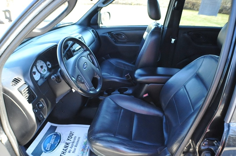 2002 Ford Escape XLT Used 4x4 Black SUV Sale Kildeer Winthrop Harbor Lake Villa Lake Zurich