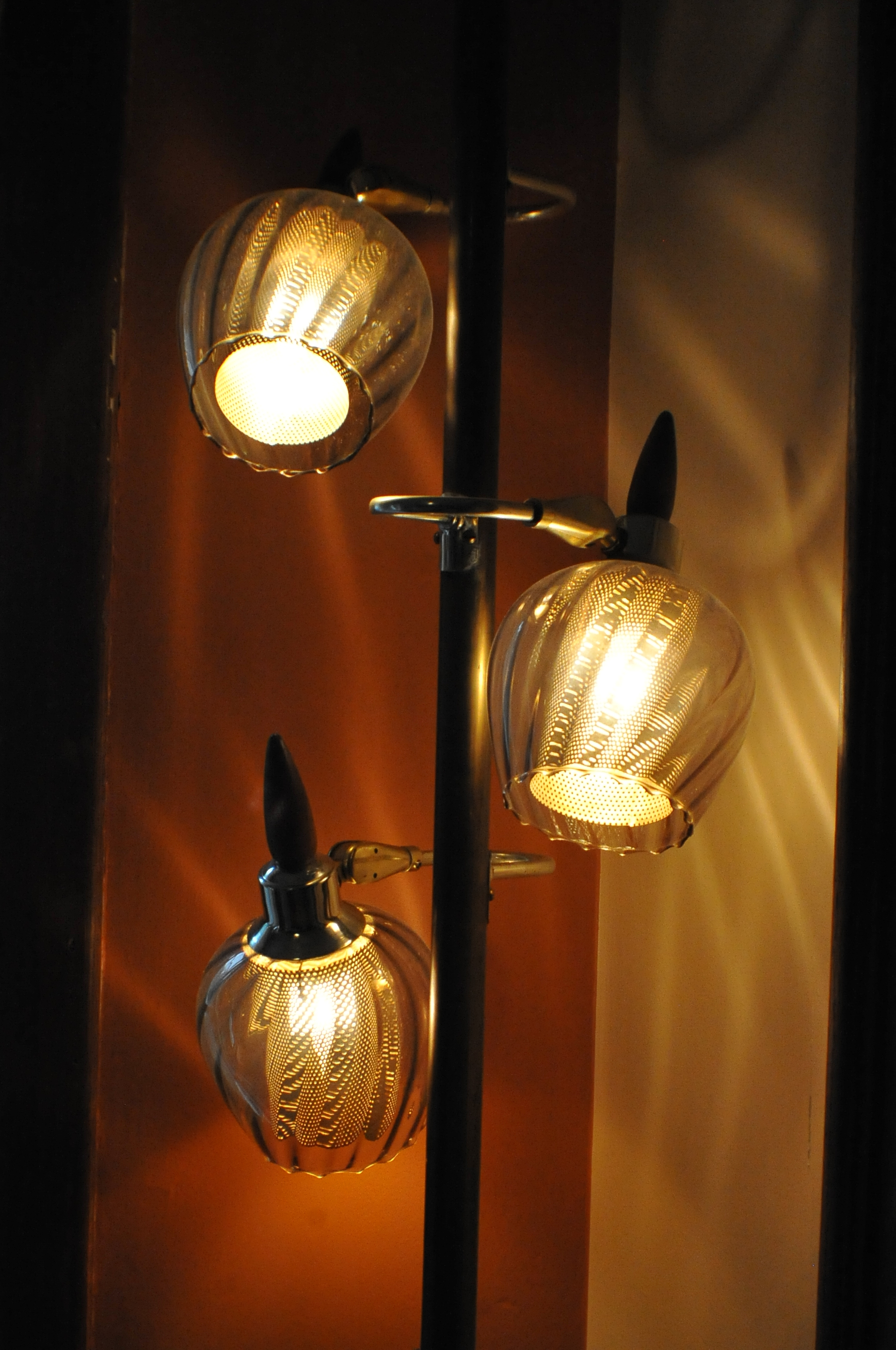 Floor ceiling pole light antique designer art deco lamp sale aloadofball Gallery