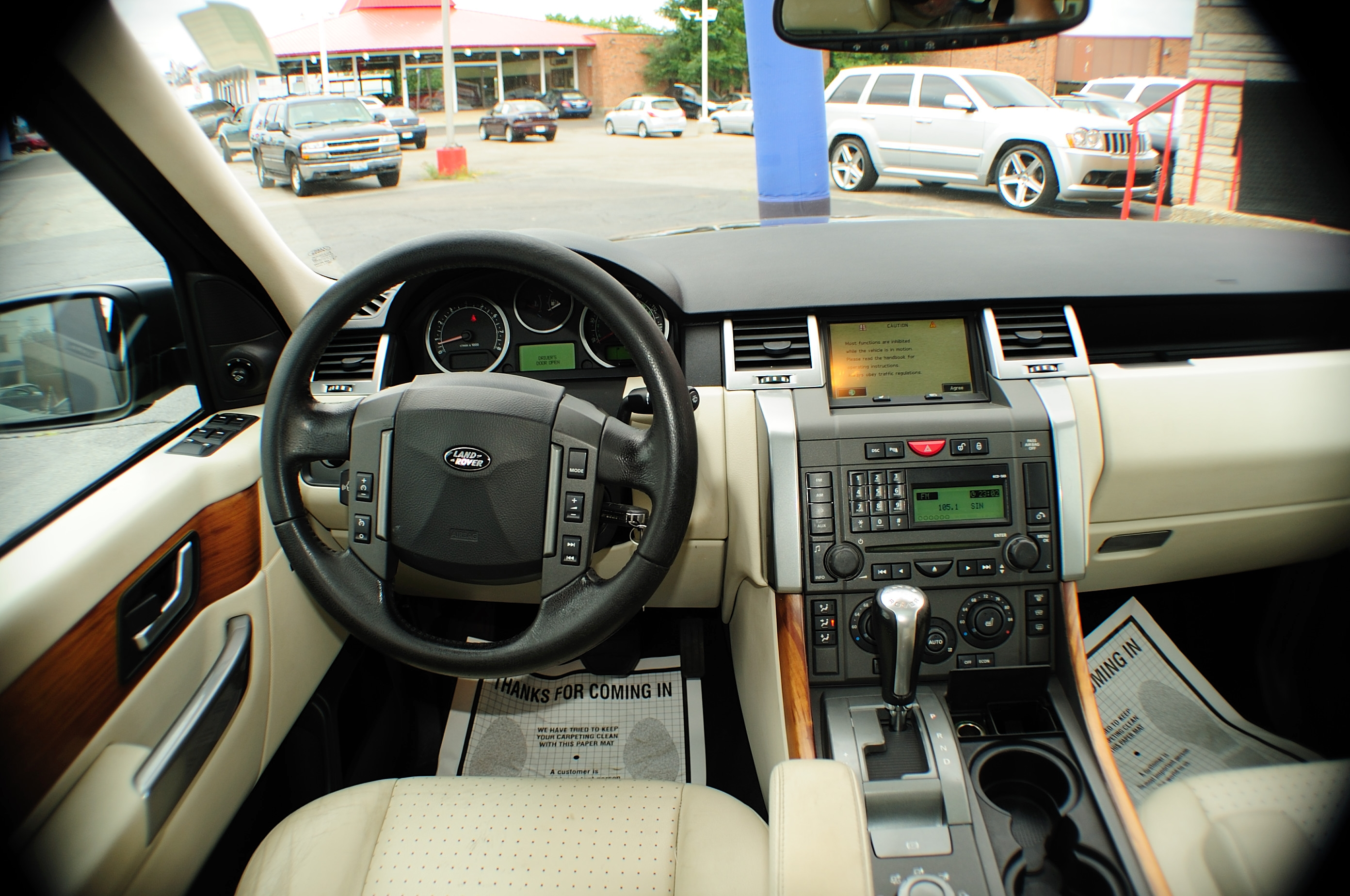 2006 Land Rover Range Rover Black used Sport SUV sale Pleasant Prairie Chicago