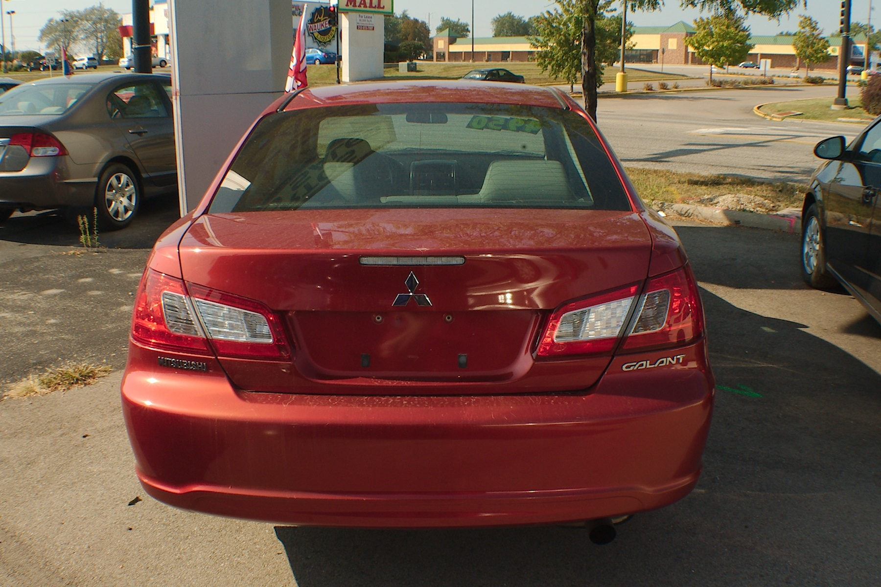 2011 Mitsubishi Galant Red Sedan Used Car Sale Buffalo Grove Deerfield Fox Lake Antioch
