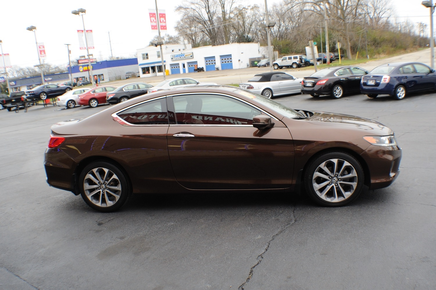 2013 honda accord brown coupe used car sale. Black Bedroom Furniture Sets. Home Design Ideas