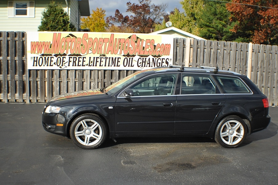 2007 Audi A4 Quattro Black Turbo Wagon sale Antioch Zion Waukegan