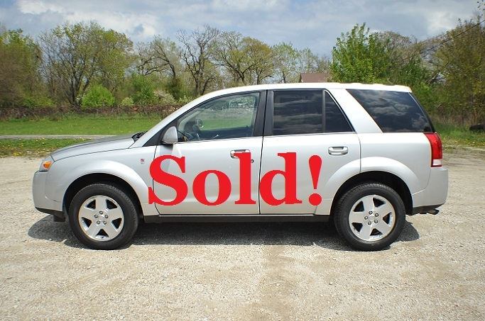 2006 Saturn Vue Silver AWD SUV Used Car Sale Waukegan