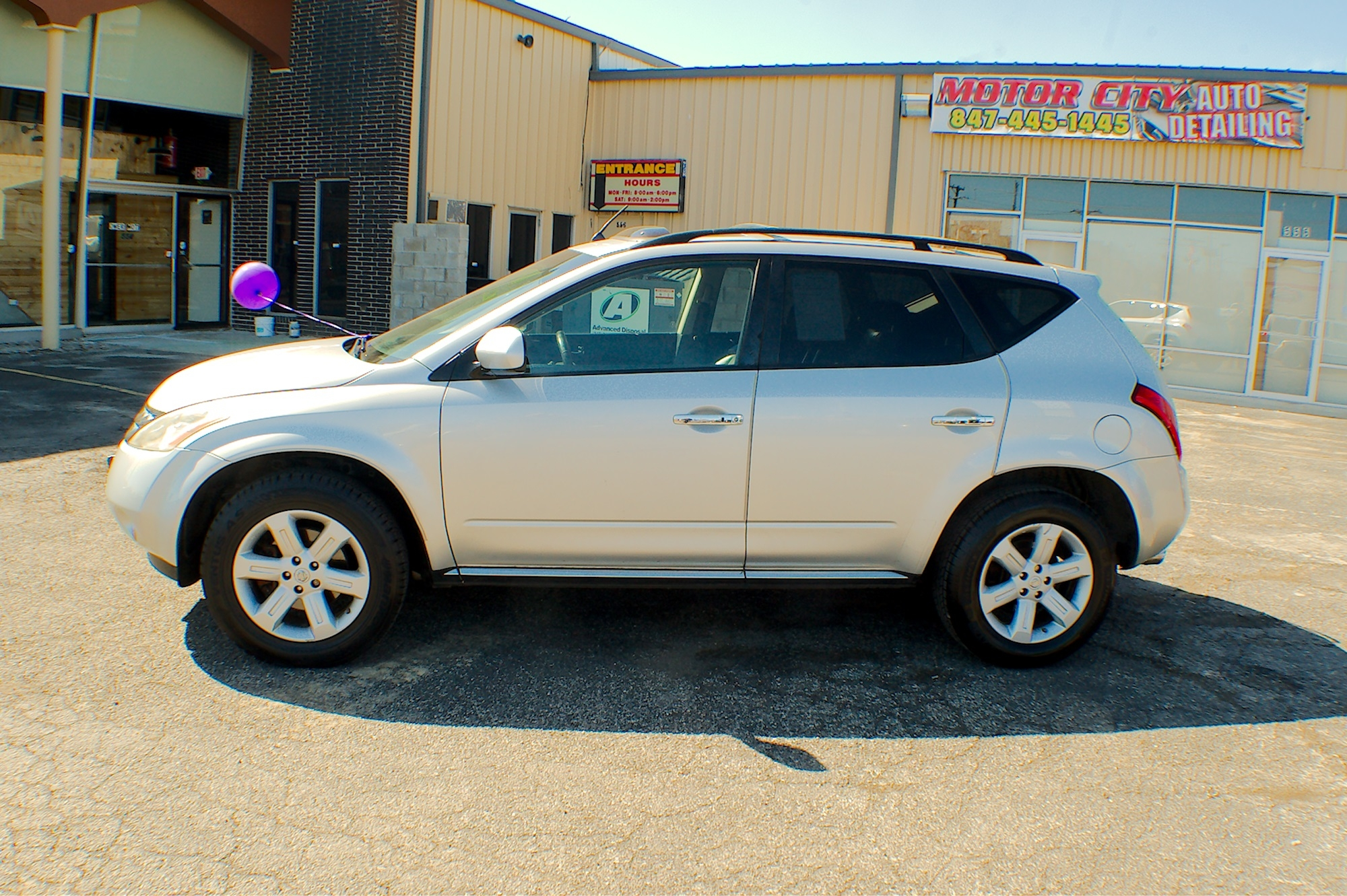 2007 Nissan Murano SL AWD Silver Used SUV Sale Bannockburn Barrington Beach Park
