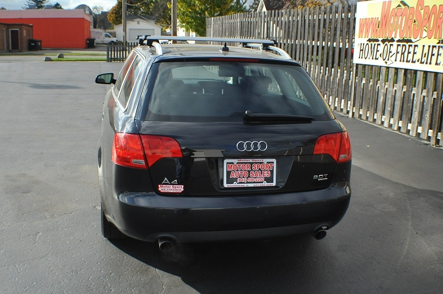 2007 Audi A4 Quattro Black Turbo Wagon sale Buffalo Grove Deerfield Fox Lake