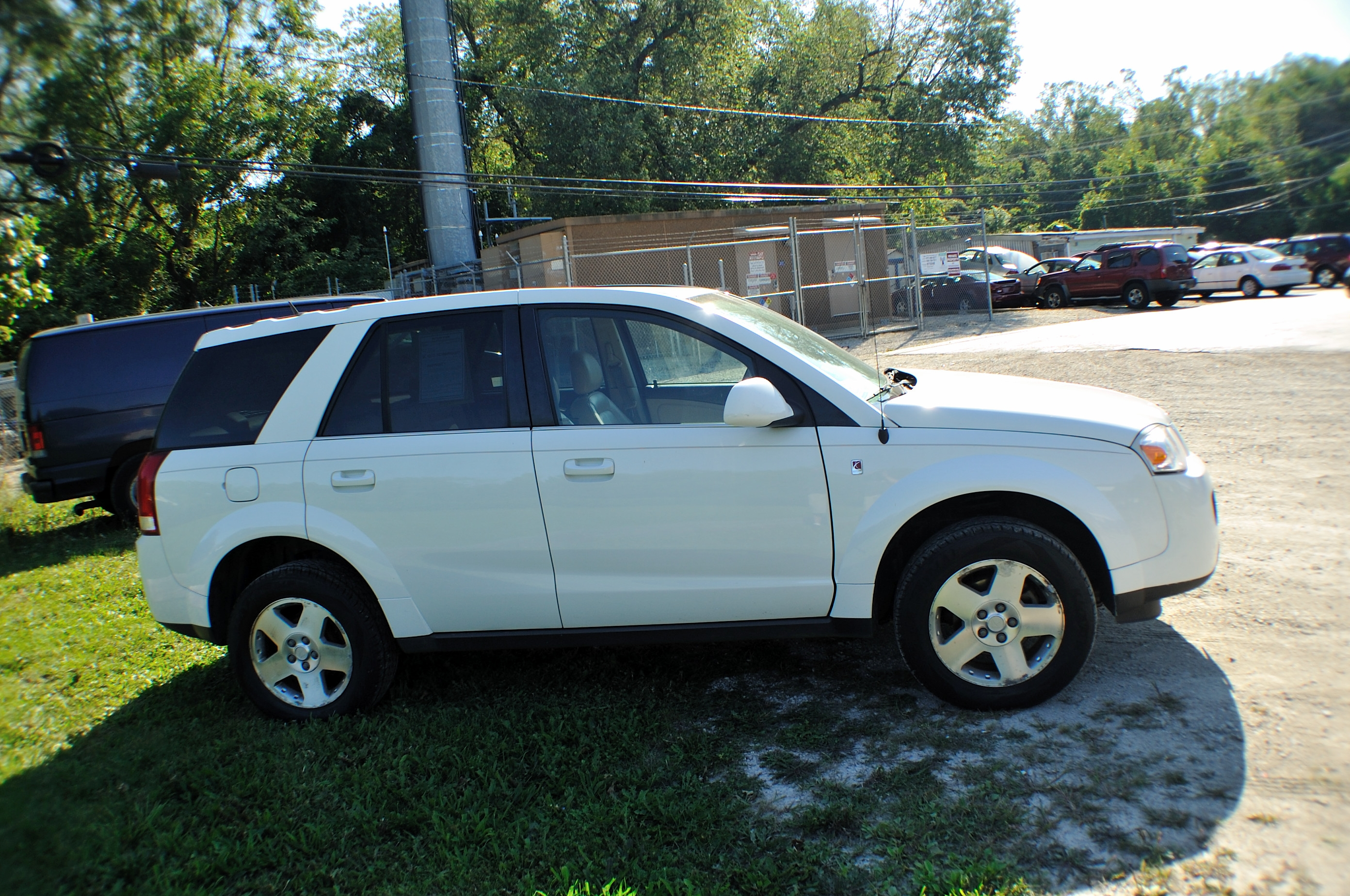 2007 Saturn Vue White AWD Navigation Used SUV Sale Bannockburn Barrington  Beach Park