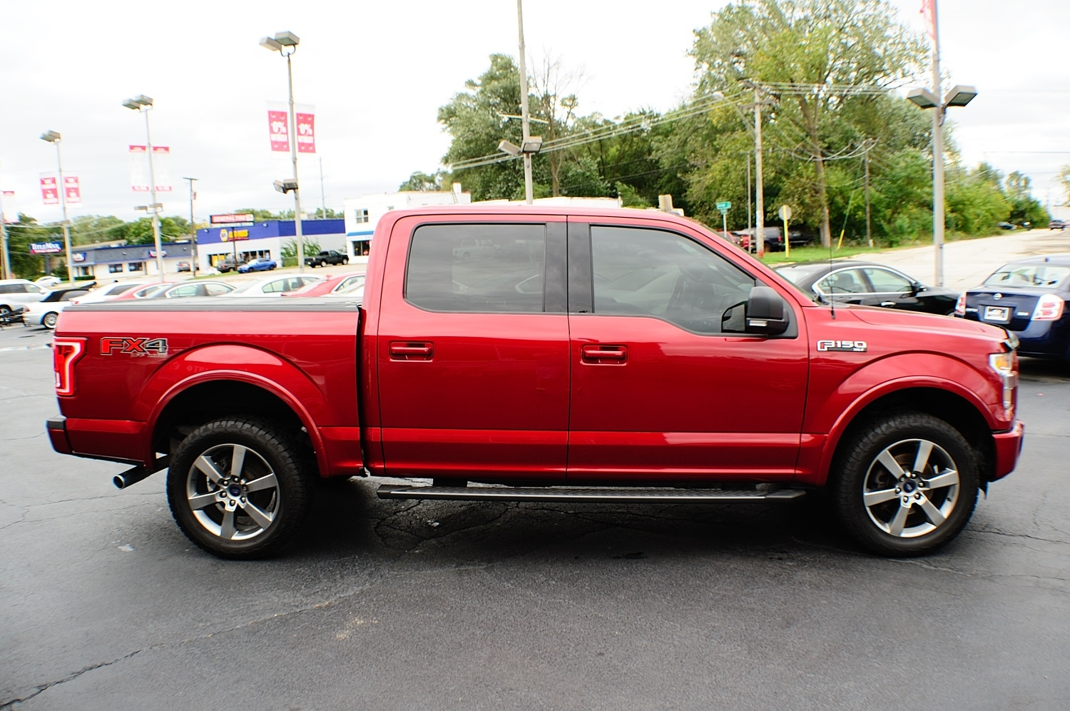 2015 Ford F150 XLT Red Used 4x4 Truck Sale Bannockburn Barrington Beach Park