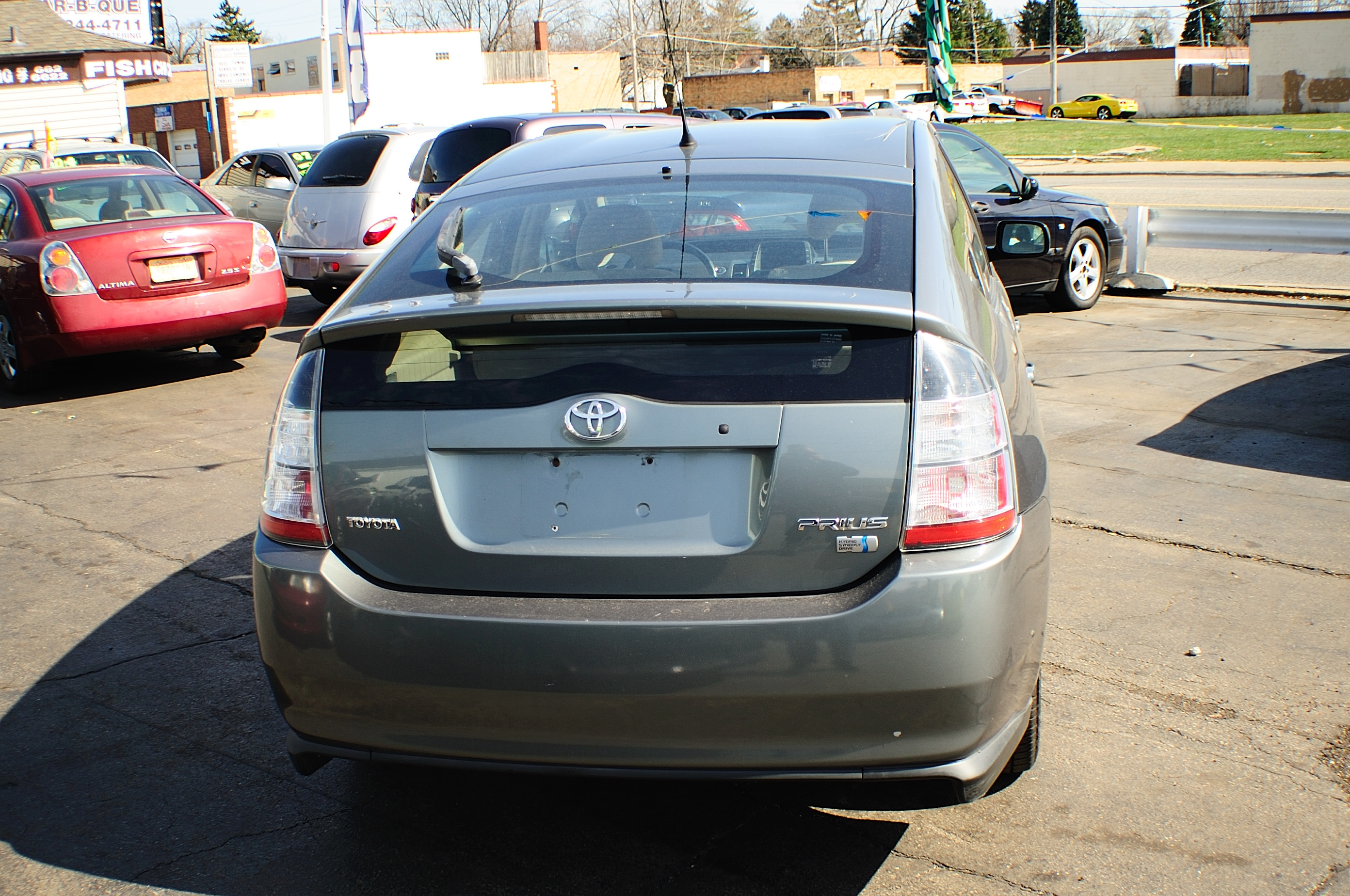 2005 toyota prius hybrid 4dr gray sedan sale. Black Bedroom Furniture Sets. Home Design Ideas