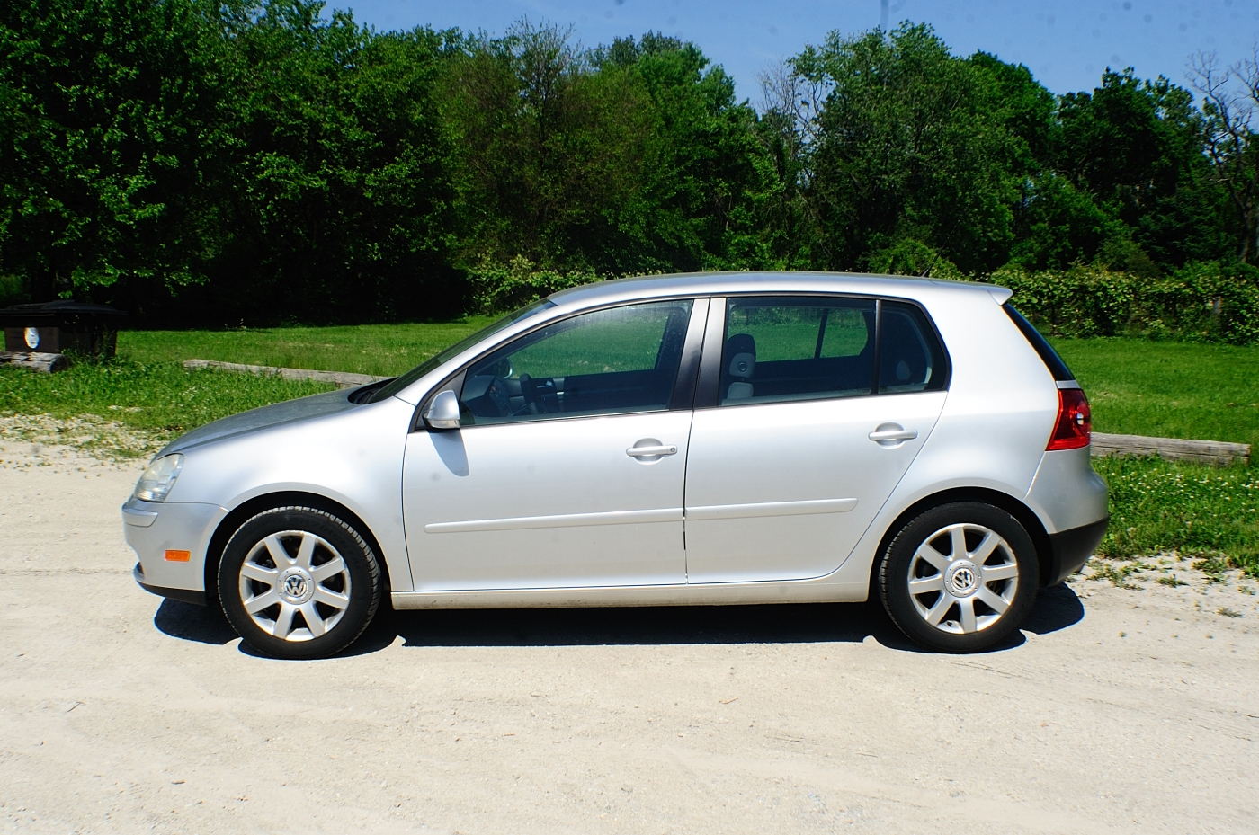 2006 Volkswagen Rabbit Silver Manual Hatchback Sale Antioch Zion Waukegan Lake County Illinois