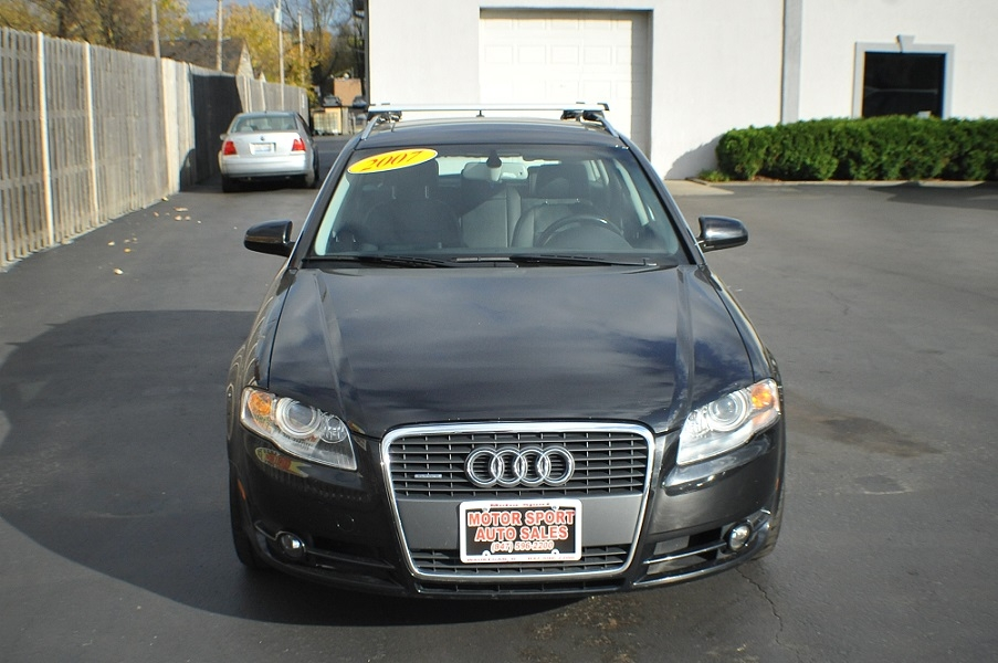 2007 Audi A4 Quattro Black Turbo Wagon sale Bannockburn Barrington Beach Park