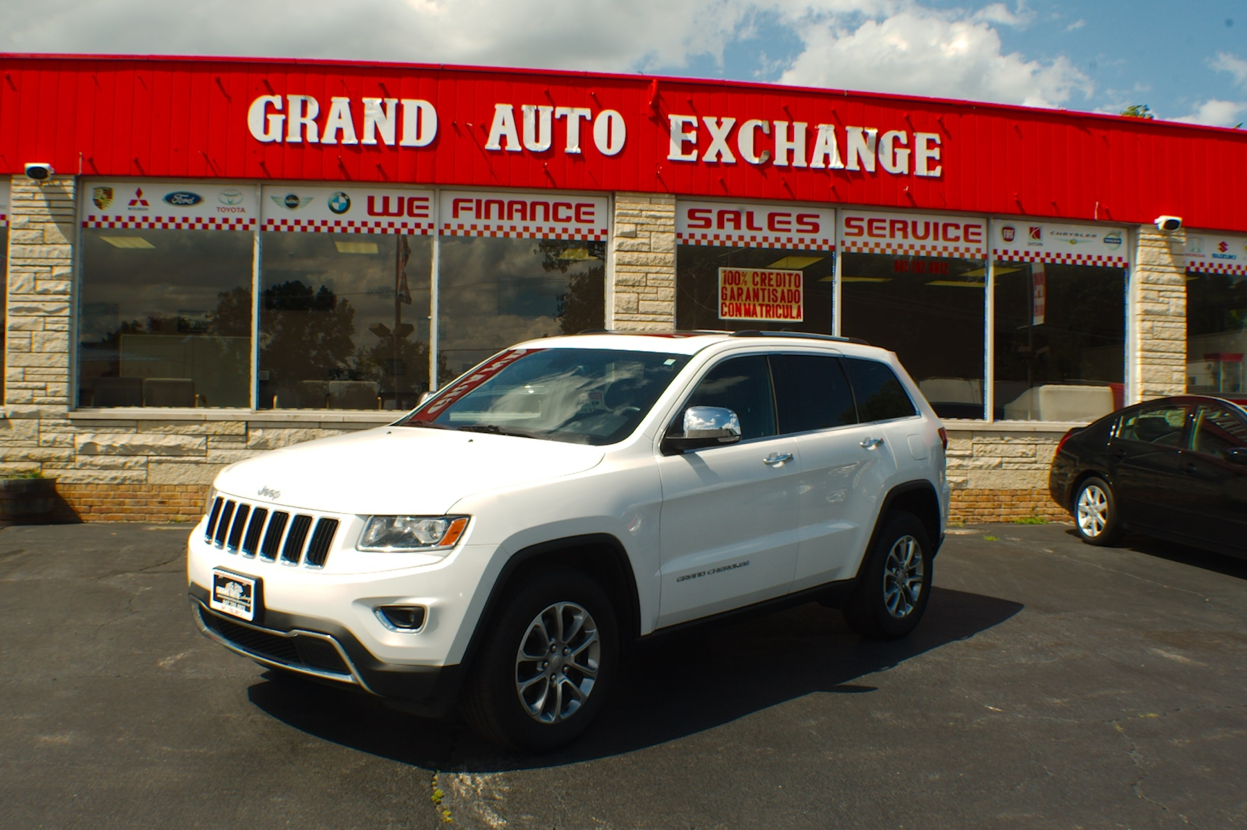 2014 jeep grand cherokee limited white 4x4 suv