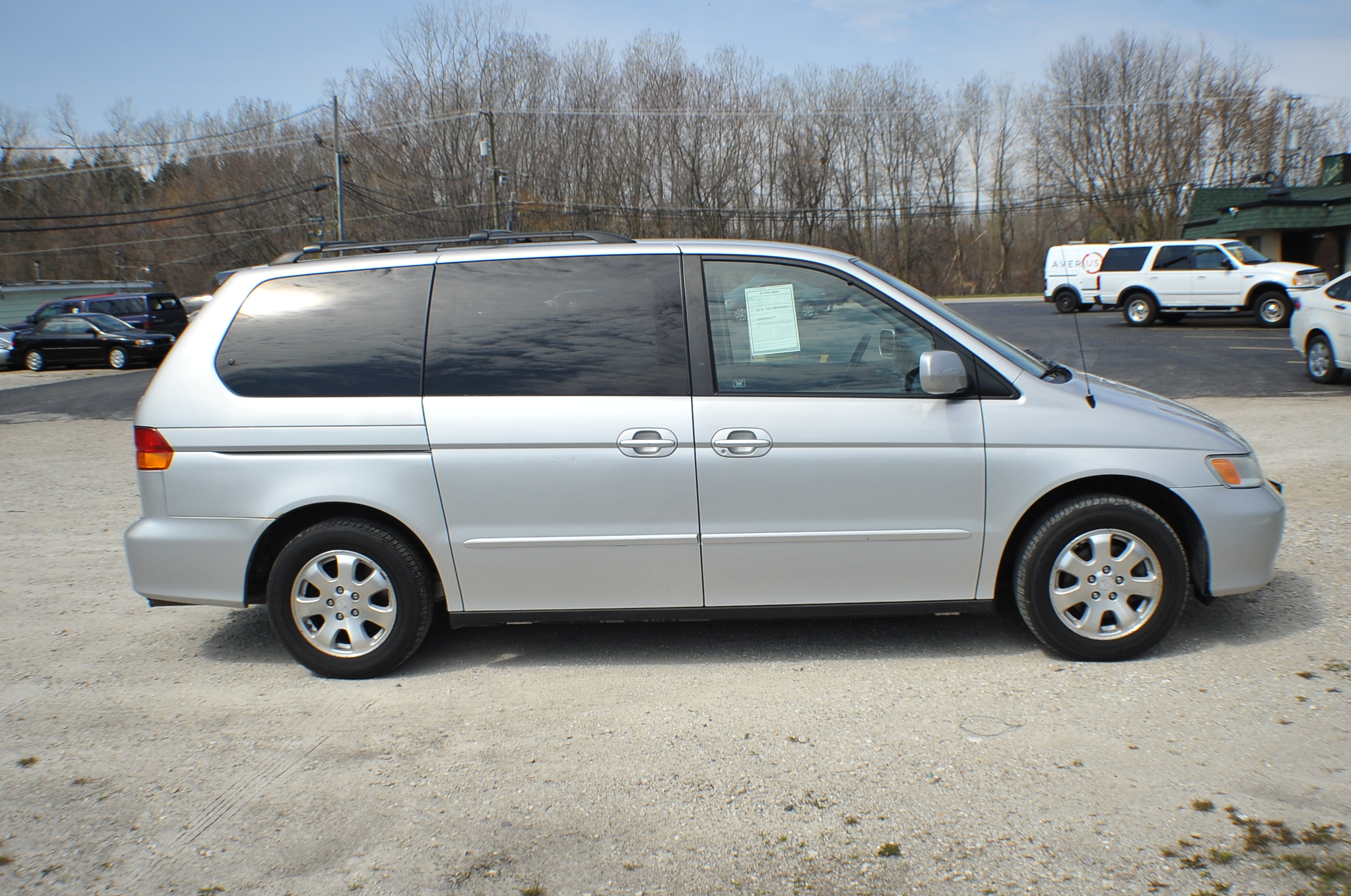 2002 Honda Odyssey Silver Used Mini Van Sale Beach Park Buffalo Grove Deerfield Fox Lake
