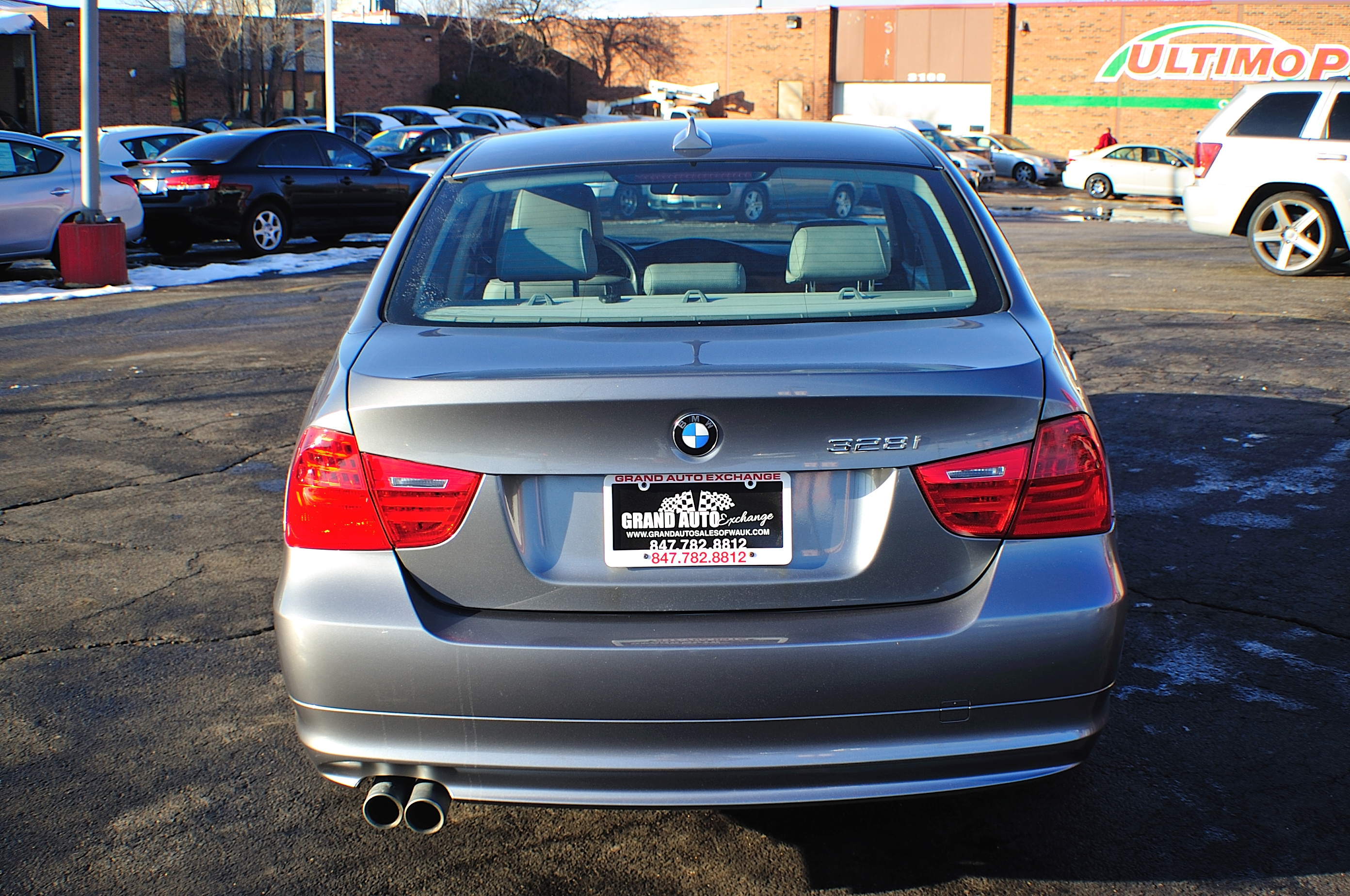 2009 BMW 328i Blue Used Sport Sedan Sale Buffalo Grove Deerfield Fox Lake