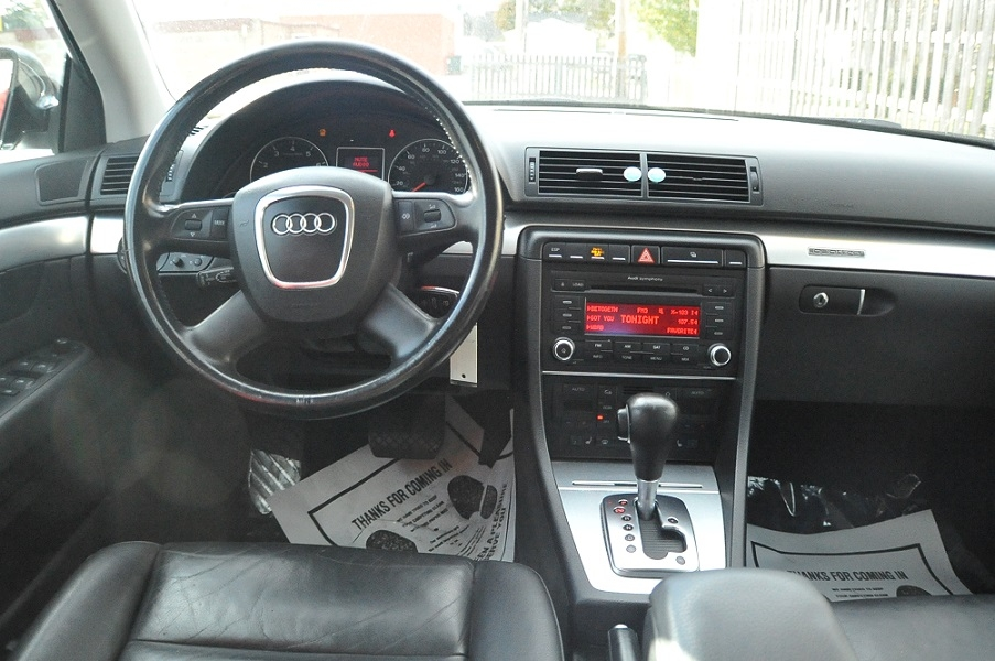 2007 Audi A4 Quattro Black Turbo Wagon sale Fox River Grove Grayslake Volo