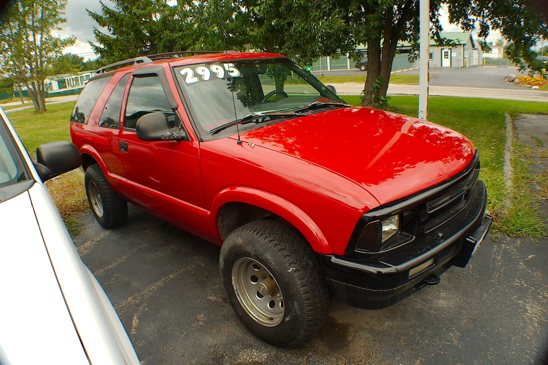 1996 Chevrolet Blazer LS 2Dr Red 4x4 SUV Sale Bannockburn Barrington Beach Park