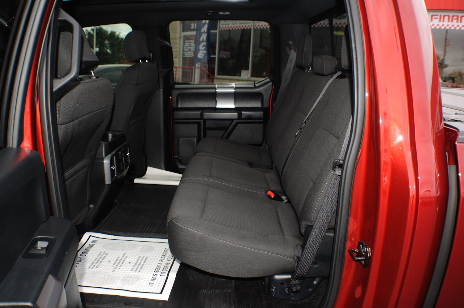 2015 Ford F150 XLT Red Used 4x4 Truck Sale Libertyville Lincolnshire Lindenhurst