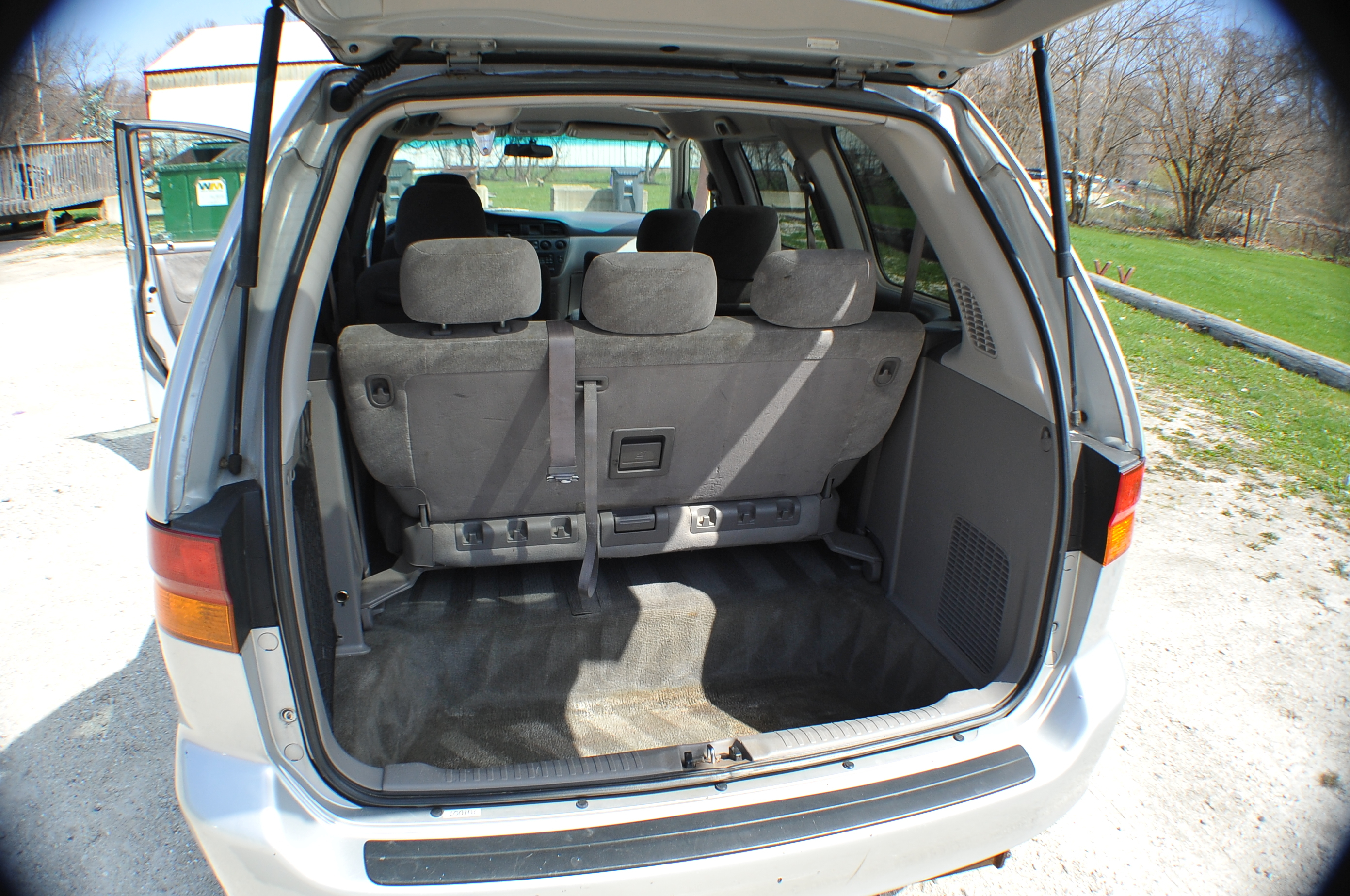 2002 Honda Odyssey Silver Used Mini Van Sale Tower Lakes Vernon Hills